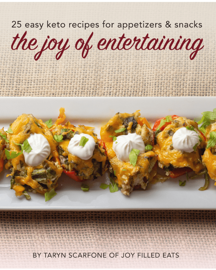 joy of entertaining cookbook cover