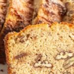 pinterest image for keto banana bread