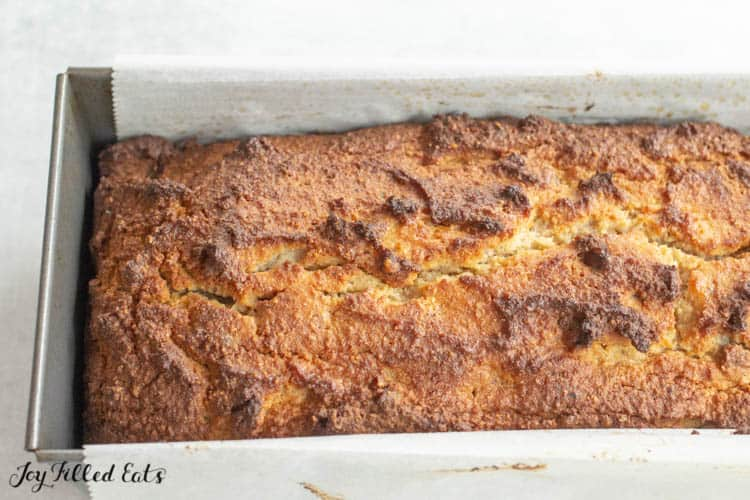 Keto Banana Bread Low Carb Gluten Free Joy Filled Eats