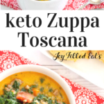 pinterest image for instant pot zuppa toscana
