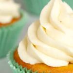 pinterest image for keto vanilla cupcakes