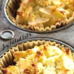 pinterest image for keto coconut flour muffins