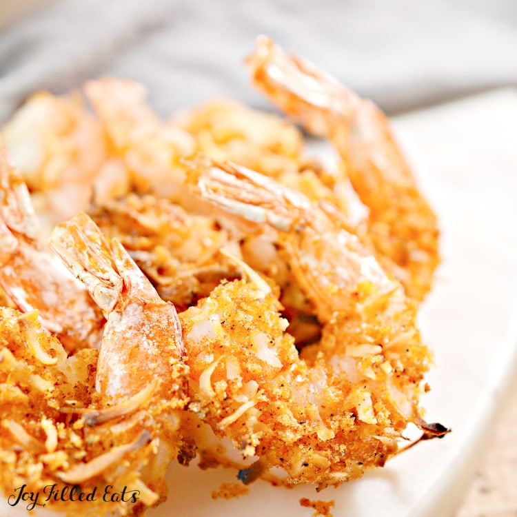 air fryer coconut shrimp with tails on
