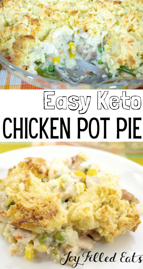 pinterest image for chicken pot pie