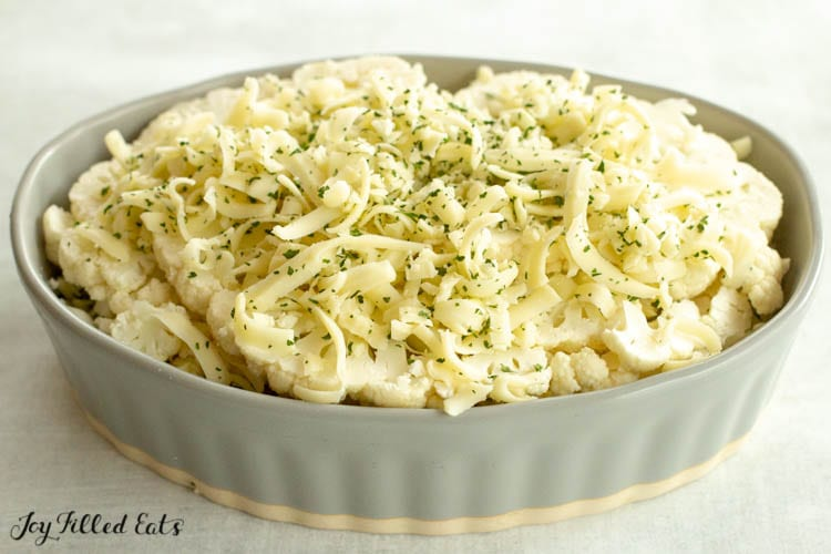 casserole with cheese topping
