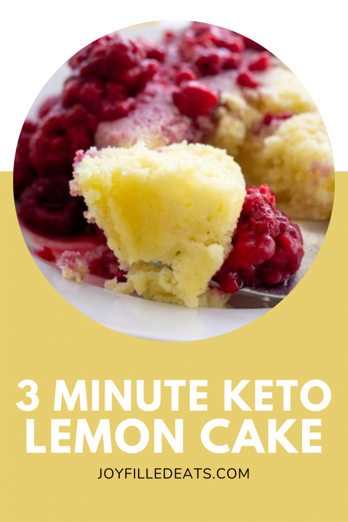 Keto Lemon Mug Cake - Low Carb, Gluten-Free, EASY - Joy ...