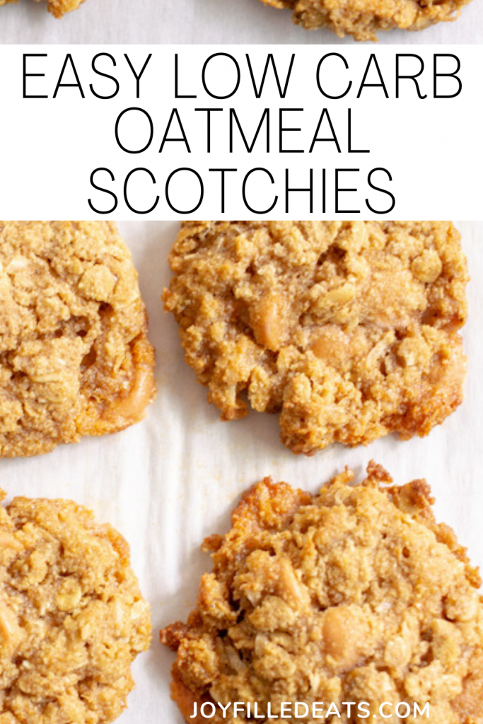 pinterest image for Oatmeal Scotchies