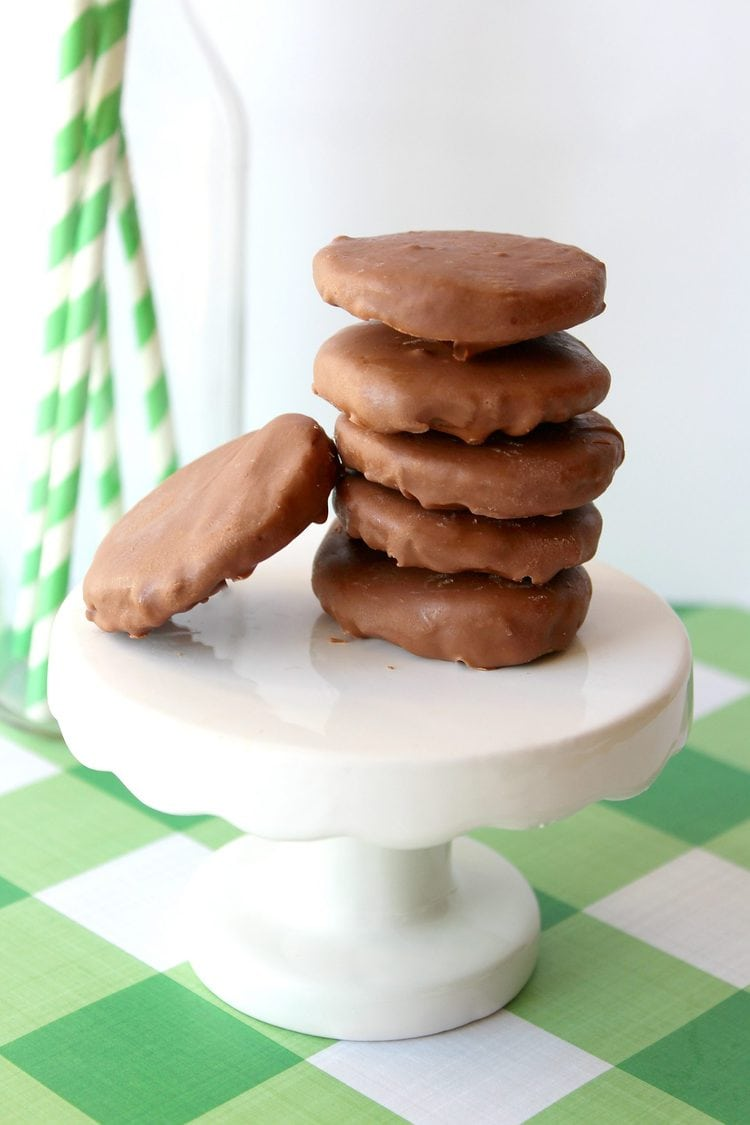 stack of keto thin mints