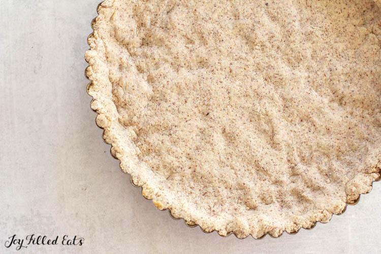 the prebaked tart crust