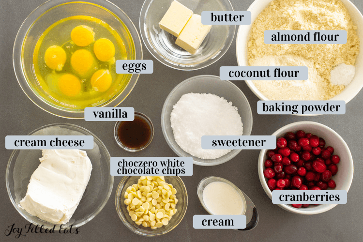 small bowls of ingredients