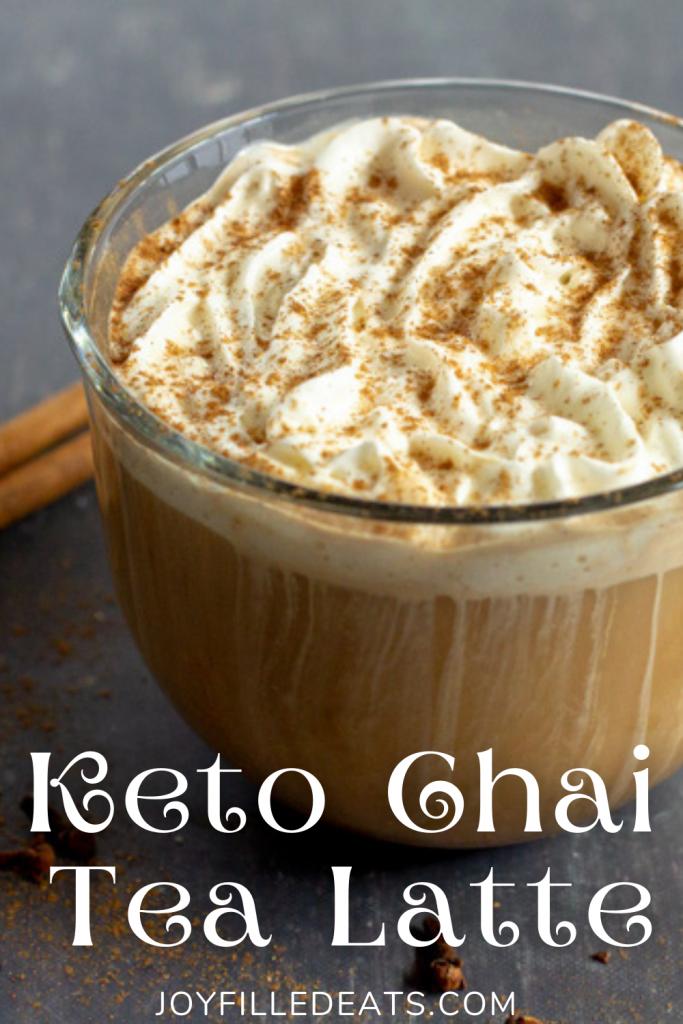 pinterest image for chai tea latte