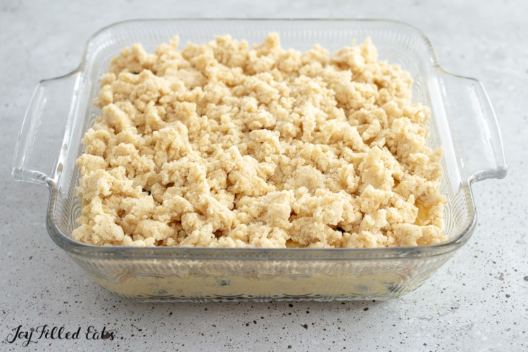 crumb topping on batter