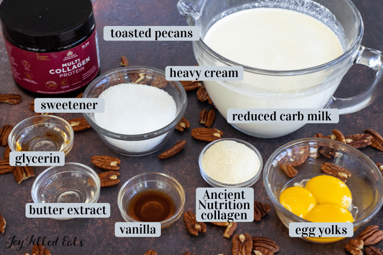 ingredients in small bowls