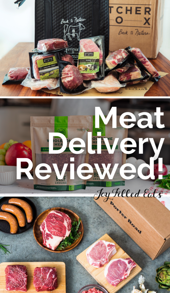 pinterest image for organic meat delivery review