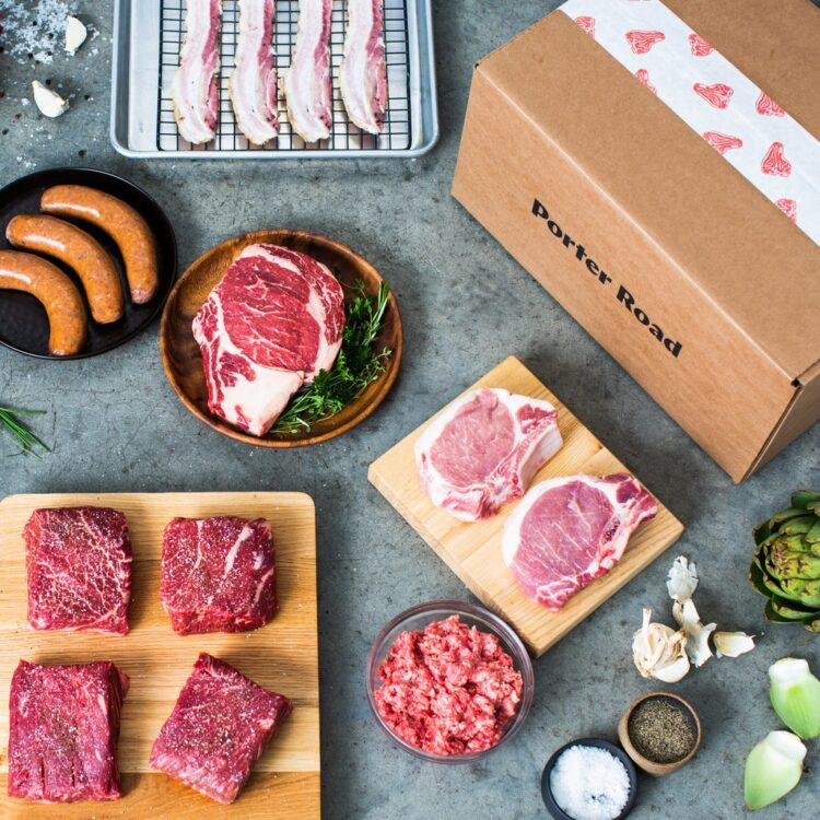 option for organic meat delivery from porter road