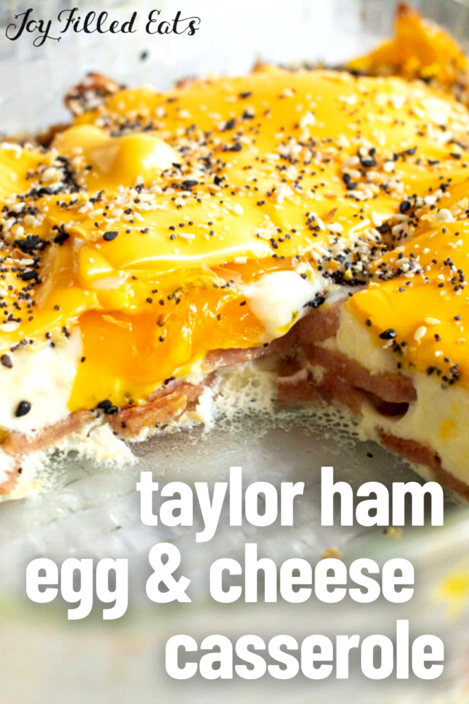 pinterest image for taylor ham egg and cheese