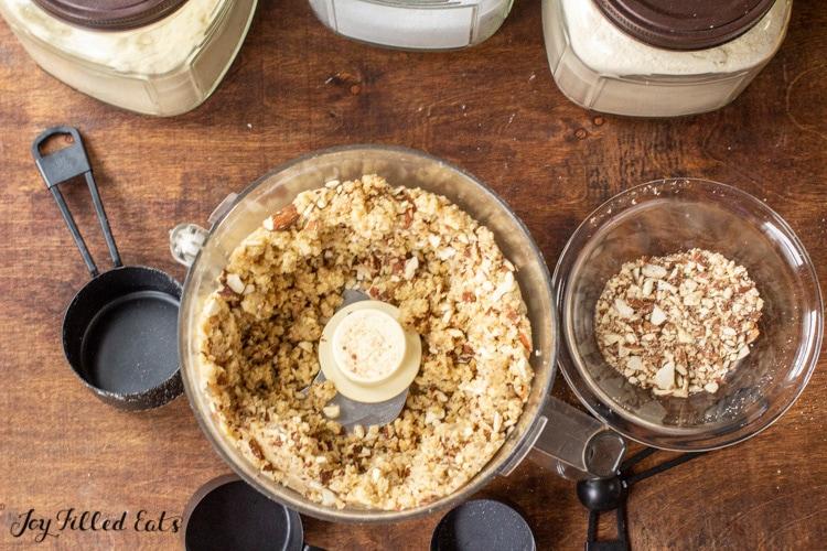 dough in food processor