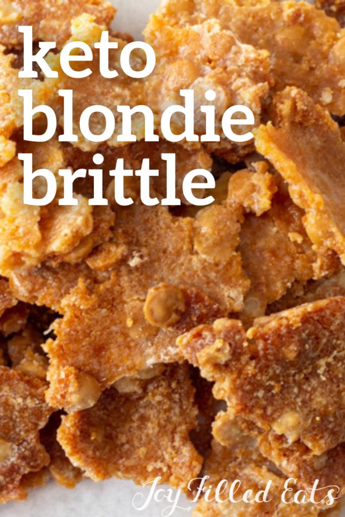 pinterest image for blondie brittle